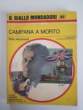 Il Giallo Mondadori n.1431 Campana a morto anno 1976