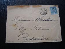 FRANCE - enveloppe 1890 (cachet marseille bat. a vapeur) (cy66) french