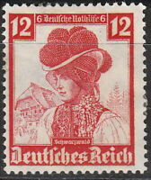 Stamp Germany Mi 593 Sc B74 1935 Fascism German Black Forest Anna Zwick MNG