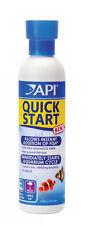API QUICK START 118ml Peces Tratamiento del Agua Filtro Bacterias Acuario Amoníaco