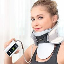 Leawell Neck Fixator Auto Pump Cervical Pain Support Size A 41.5 X 15cm LY-QY03A