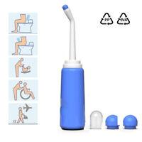 Tragbares Po-dusche Handheld WC Sprüher Bidet-Flasche 500ML Für Waschen Reise