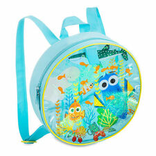 NWT Disney Store Finding Dory Junior Backpack Water Filled Panel Nemo