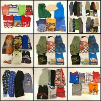 Huge Lot Boys Small Clothes 6 6X Childrens Kids Tops Pants Shirts PJ Clothing