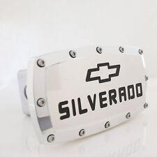 Chevrolet Silverado Chrome Billet w/ Allen Bolts Tow Hitch Cover