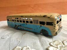 Rare Soviet toy metal bus Minsk 1950s USSR