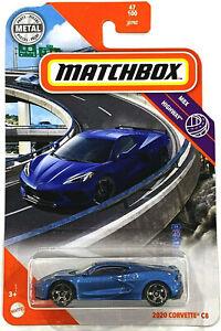 MATCHBOX 2021  2020  CORVETTE  C8 Blue   47 / 100 MOC