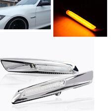 2X LED Fender Turn Signal Side Marker Light For BMW E60 E81 E82 E90 E91 E92 E93