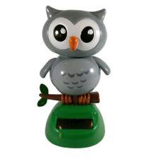 Solar Power Dancing Grey Owl Daiso Usa Seller One Day Shipping