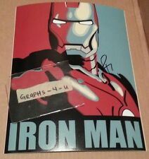 Robert Downey Jr Signed Iron Man Autograph COA Proof Charlie Chaplin e