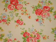 Shabby Retro Cath Kidston Vintage Spray Flowers Floral Flower White Pink Chic