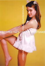 ACTRESS BROOKE SHIELDS 8 X 10 COLOR PHOTO A-BS4
