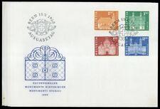 1960, Schweiz, 696-713, FDC - 1728880