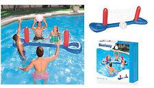 Rojo Voleibol hinchable con bola para mar piscina juego hinchable agua