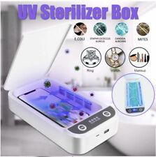 Stérilisateur UV Boîte de stérilisation UV de désinfection smartphone, clés etc