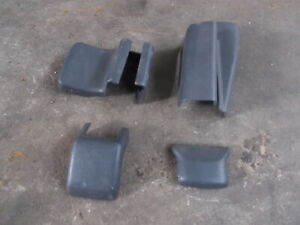 TOYOTA JZX100 CHASER series1 1JZGTE front drivers seat mounting bolt cover set