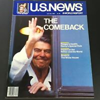 VTG US News & World Report July 29 1985 - Ronald Reagan's Health / The Comeback