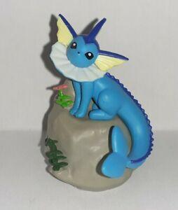 Figurine Pokémon Aquali sur son rocher B-12 Nintendo no Pikachu Evoli Noctali
