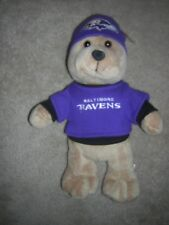 "Baltimore Ravens Plush Bear 14"" Stuffed Animal Toy NFL Good Stuff"