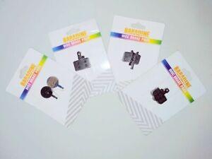 BARADINE Organic Semi-Metal Brake Pads for AVID ELIXIR BB5 BB7 SHIMANO WINZIP