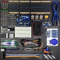 1set RFID ultrasonic starter learning kit for arduino beginner R3 9H