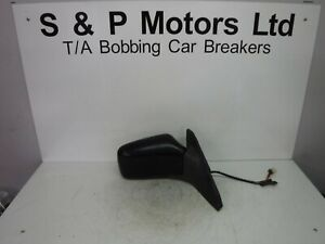 Volvo S40 V40 96-04 OS Electric Wing Mirror 5 Wire Black