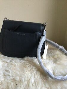 Marc Jacobs Recruit Leather Large Size Saddle Bag, Brand New W Tags, Grey Colour