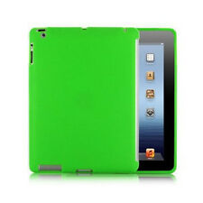 Silicone Back Case Work With Smart Cover & Screen Protector for Apple iPad 2