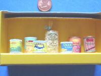 Nr.27024 Bodo Hennig Konserven 1:10 Puppenstube Puppenhaus Puppenhausmöbel