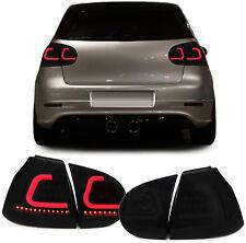 LED Lightbar Rückleuchten schwarz mit Dynamic Blinker für VW Golf 5 V 03-08