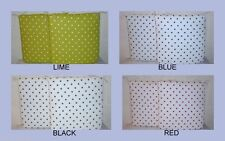 Polka Dot 100% Cotton Garden & Patio Furniture Cushions