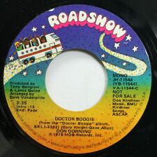Soul Promo Nm! 45 Roadshow - Doctor Boogie / Doctor Boogie On Bmi