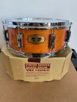 "Pearl Vision Maple VMX923 Snare Drum 14X5.5"" #266 Terracotta W/ Chrome Hardware"