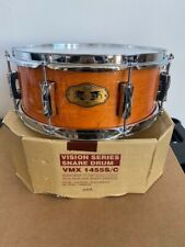 """Pearl Vision Maple VMX923 Snare Drum 14X5.5"""" #266 Terracotta W/ Chrome Hardware"""
