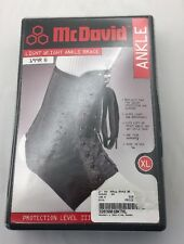 McDavid Light Weight Ankle Brace 199R B Protection Level III Black Size XL NOS