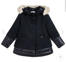 Mayoral Girls Winter Coat Detachable Hood BNWT Beige Age 2 Years