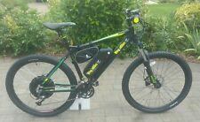 Electric Mountain Bike - Wing Black Stallion 1000w 48v - 1700w 52v 17.5ah 40mph+