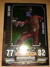 Force Attax Star Wars Serie 3 Star-Karte 221 Cad Bane Sammelkarte Cards