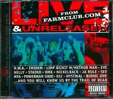 Music CD Hip Hop Live Unreleased From Farmclub.Com Sealed