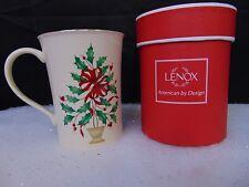 Lenox Holiday Warmest Wishes 'Tis The Season Christmas Gift Mug 12 oz #C58