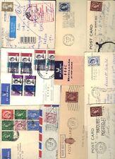 UK GB 1950-60's COLL OF 31 COMM CVRS & CARDS INC FEW FDCS WITH SLOGAN CANCELS &