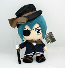 "Black Butler 12"" Ciel Phantomhive Japanese Anime Figure Plush Soft Toy Doll New"