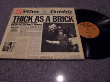 "Jethro Tull ""Thick As A Brick"" WARNER BROS MS-2072 LP"