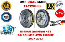 FOR NISSAN QASHQAI +2 I 2.0 DCI M9R AWD 150BHP 07-13 NEW DUAL MASS DMF FLYWHEEL