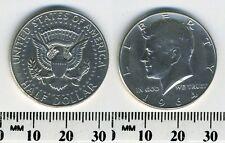 USA 1964  - 50 Cents Kennedy Half Dollar Silver Coin - #1