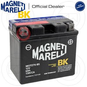 BATTERIA MAGNETI MARELLI YTZ7V 6Ah per YAMAHA MWS Tricity 125 2017-2021