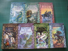 C S Lewis Chronicles of Narnia full set of 7 illustrated paperback