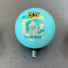 Bell's Brewery Lager Beer Ball Shaped Beer Tap Handle Topper Excellent RARE