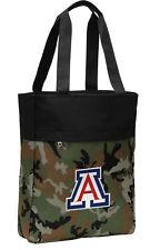 Arizona Wildcats Camo Tote Bag for Beach Pool UA Logo Gifts Travel Bags