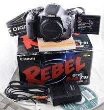 Free shipping! shutter 22k Canon EOS Rebel T3i 600D Digital SLR Camera body 18MP